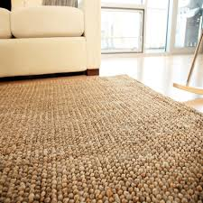 Round Natural Rug by Faux Jute Rug Roselawnlutheran
