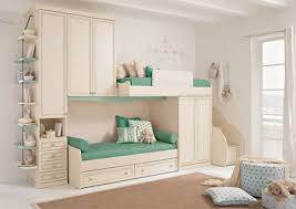modern styling and space saving design for two single beds leave