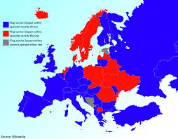 Europe Flag Map by Airbus Vs Boeing In European Flag Carriers U0027 Fleets Europe