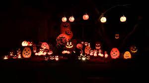 2015 halloween light show pumpkins youtube