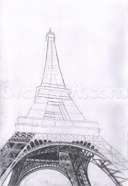 art black u0026 white drawing drawings eiffel eiffel tower