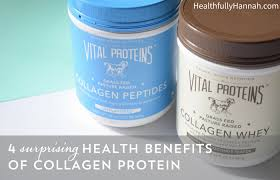 Vital Proteins Collagen 4 Surprising Health Benefits Of Collagen Protein Healthfully Hannah