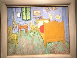 van gogh bedroom painting jca art students visit van gogh s bedrooms exhibit at art