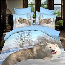 Wolf Bedding Set Wolf Bed Set Welcome