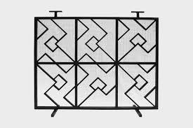 commune product commune arrow fireplace screen