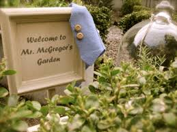 mr mcgregor s garden rabbit rabbit and mr mcgregor s garden once upon a time la