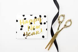 new year s cards new years card 2018 happy new years cards personalized black