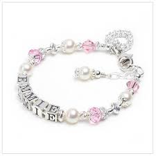 infant name bracelet baby bracelets and infant bracelets