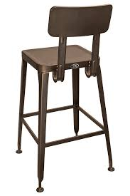 cafe bar stools simon steel cafe bar stool with antique rust finish bar