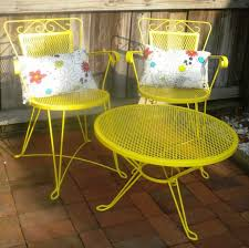 Yellow Patio Chairs Bar Furniture Yellow Patio Chairs Yellow Metal Patio Chairs