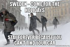 Swedish Meme - sweden come for the holidays stay forever because you can t find