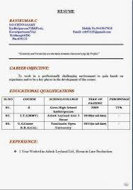 Professional Resume Format For Fresher by Formats For A Resume Updated Format For A Good Resume Resume