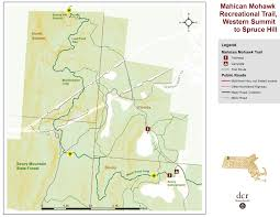 Massachusetts On Us Map by The Mahican Mohawk Trail