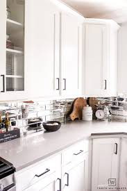 white kitchen cabinets with black drawer pulls kitchen updates black modern cabinet pulls whiteaker