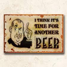funny bar sign vintage beer art retro home decor