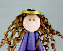 handmade angel tree topper large paper quilling sweethearts and