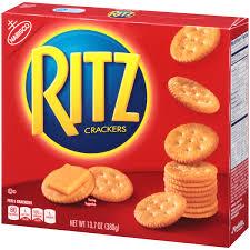 personalized cracker boxes nabisco ritz crackers original 13 7 oz walmart