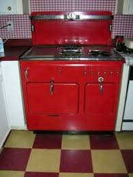 Antique Red Kitchen Cabinets by This White Wedgewood Features Just A Touch Of Blue On The Handles