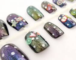 kawaii nails kuma 3d nails japanese nail art summer