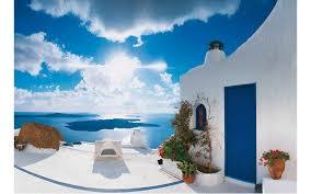 santorini style home decor travel leisure