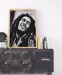 bobmarley reggae rasta homeyville christmasgift poster homedecor
