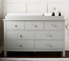 Dresser Changing Table Kendall Wide Dresser Topper Set Pottery Barn