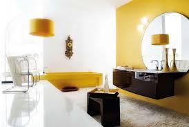 Modern Yellow Rug by Bathroom Luxury Contemporary Yellow Accent Bathroom White Fur Rug