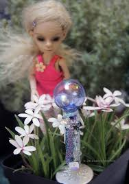 Gazing Globe Pedestal How To Make Dollhouse Or Fairy Garden Gazing Balls