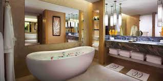 on suite bathrooms sands suite in marina bay sands singapore hotel