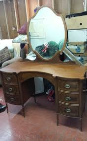 dresser with desk attached i have inherited my mother s tell city furniture mirrored dresser