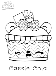 num noms ice cream truck coloring page get coloring pages