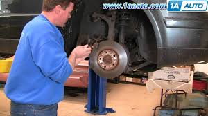 how to install replace front brakes vw passat 98 01 1aauto com