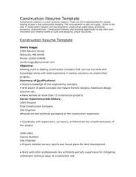 Construction Laborer Resume Examples And Samples by Resumes For Excavators Construction Equipment Operator Resume