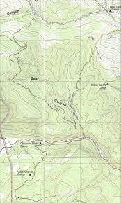 Philmont Scout Ranch Map Philmont Path Between Camps