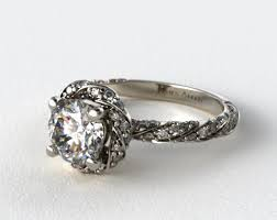twisted halo engagement ring 58 best halo engagement rings images on halo rings