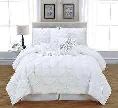 Bed Set Comforter Get Alluring Visage Displaying A White Comforter Sets King White