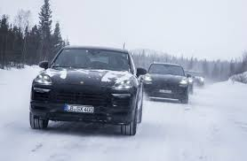 2018 porsche cayenne previewed before august 29 debut