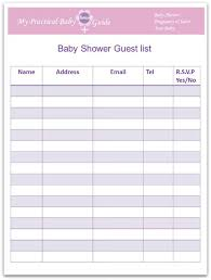 list of baby shower how to plan a baby shower my practical baby shower guide