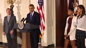 barack obama pardons cheese the 2014 national thanksgiving turkey