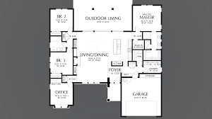 mascord house plan 1247a the baines