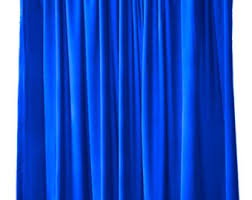 royal blue bedroom curtains royal blue etsy