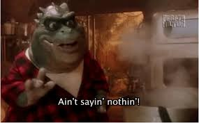 Baby Sinclair Meme - not the momma call him big poppa the dad from dinosaurs