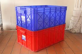 Jual Keranjang Container Plastik Bekas jual keranjang buah plastik bekas malang rak gondola minimarket