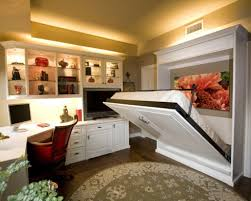 Small Bedroom Office Design Ideas Wonderful Decorating Ideas For Small Guest Bedroom With Queen Beds