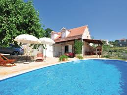 House With Pools Holiday House Rustical House With Pool Dalmatia Firma Larus