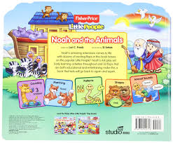 fisher price little people noah and the animals lift the flap