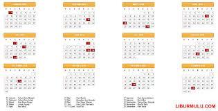 Kalender 2018 Hari Libur Indonesia Kalender Liburan 2018 Dan Cuti Bersama Indonesia Liburmulu