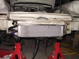 porsche 911 cooler b b nose mounted cooler installation