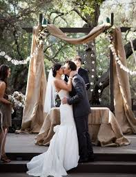 wedding arches decorated with burlap 89 best images on arch for wedding decor