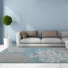 Rugs With Teal Lanart Blue Area Rugs Rugs The Home Depot